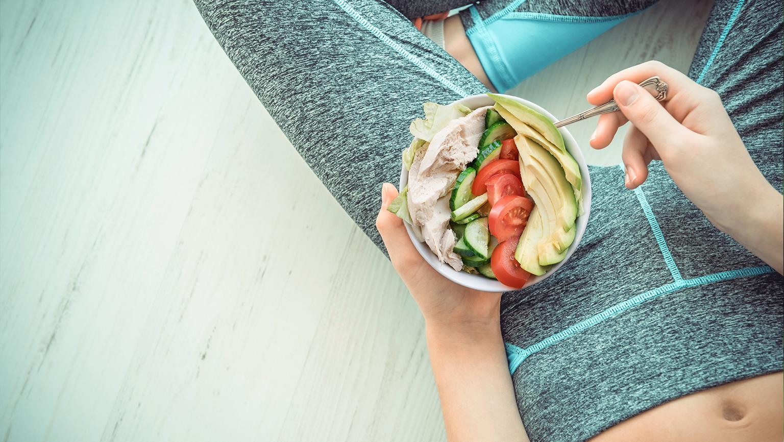 運動後這樣吃,享瘦吃不胖