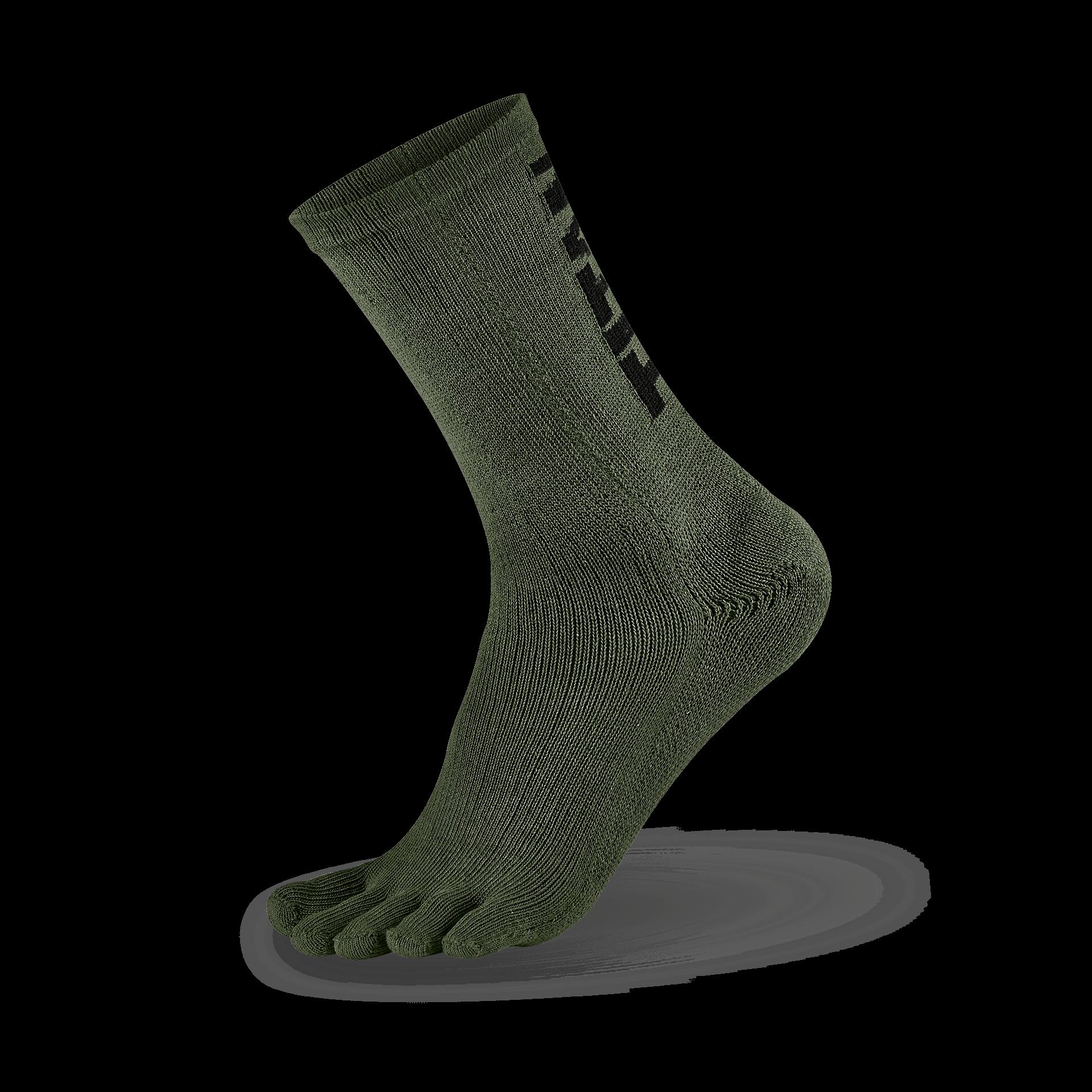 五趾舒壓生活襪 中筒