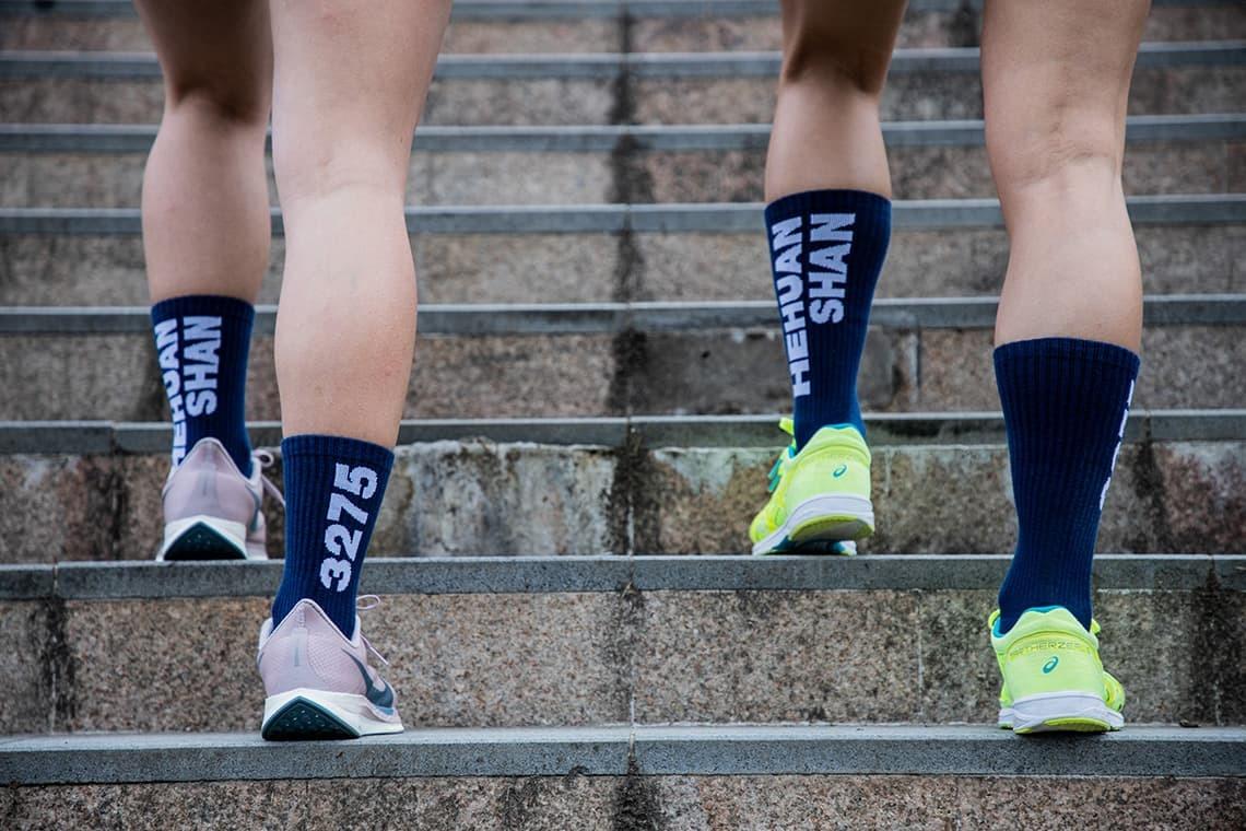 [預購] 活動短T(大童)+功能慢跑襪 合歡山馬拉松