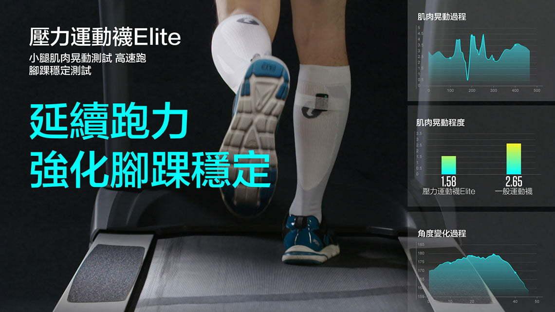 壓力運動襪Elite