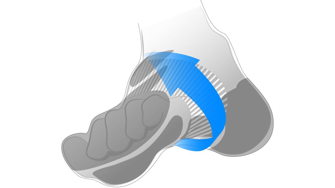 功能慢跑襪 2
