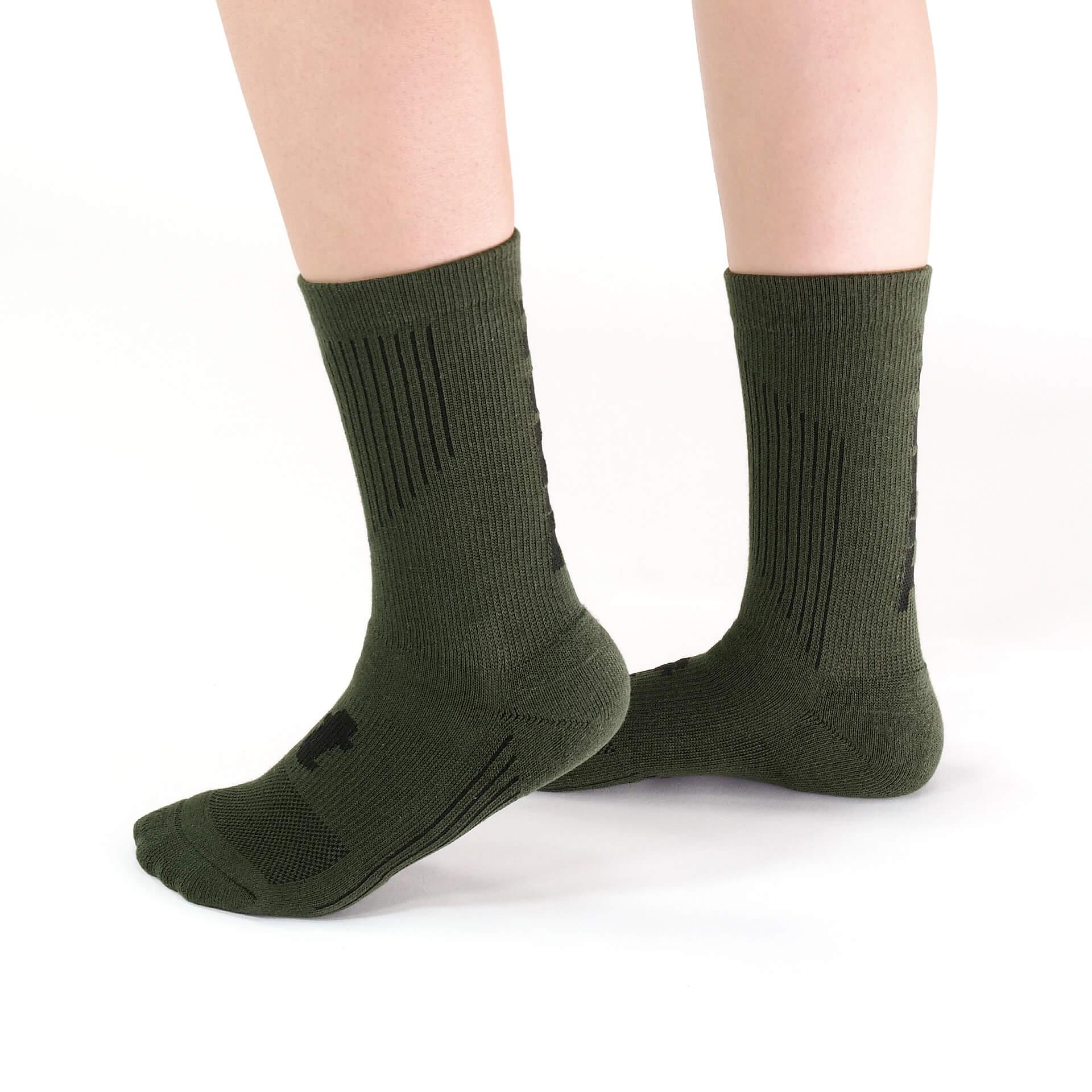 舒壓生活襪 中筒