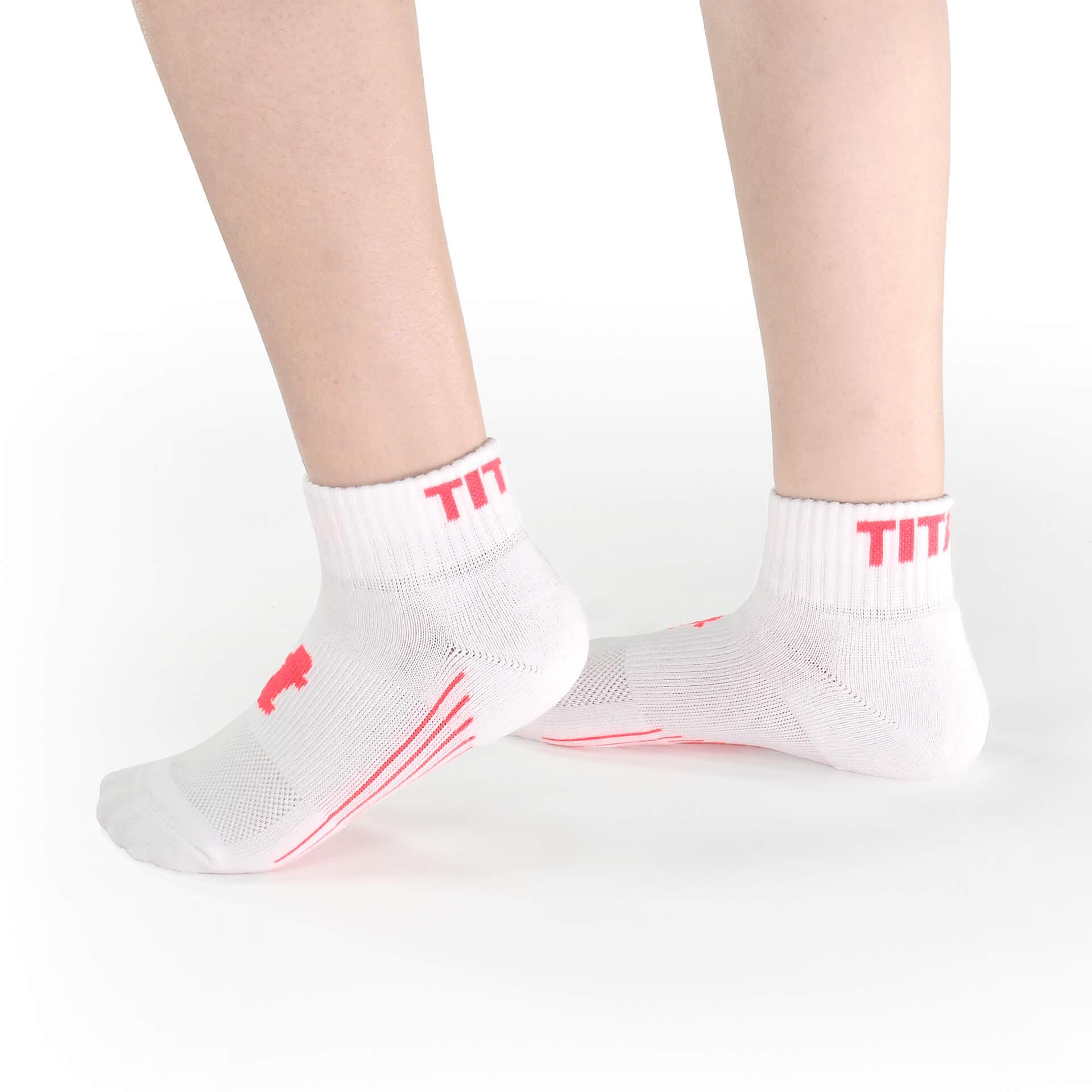 舒壓生活襪 短筒