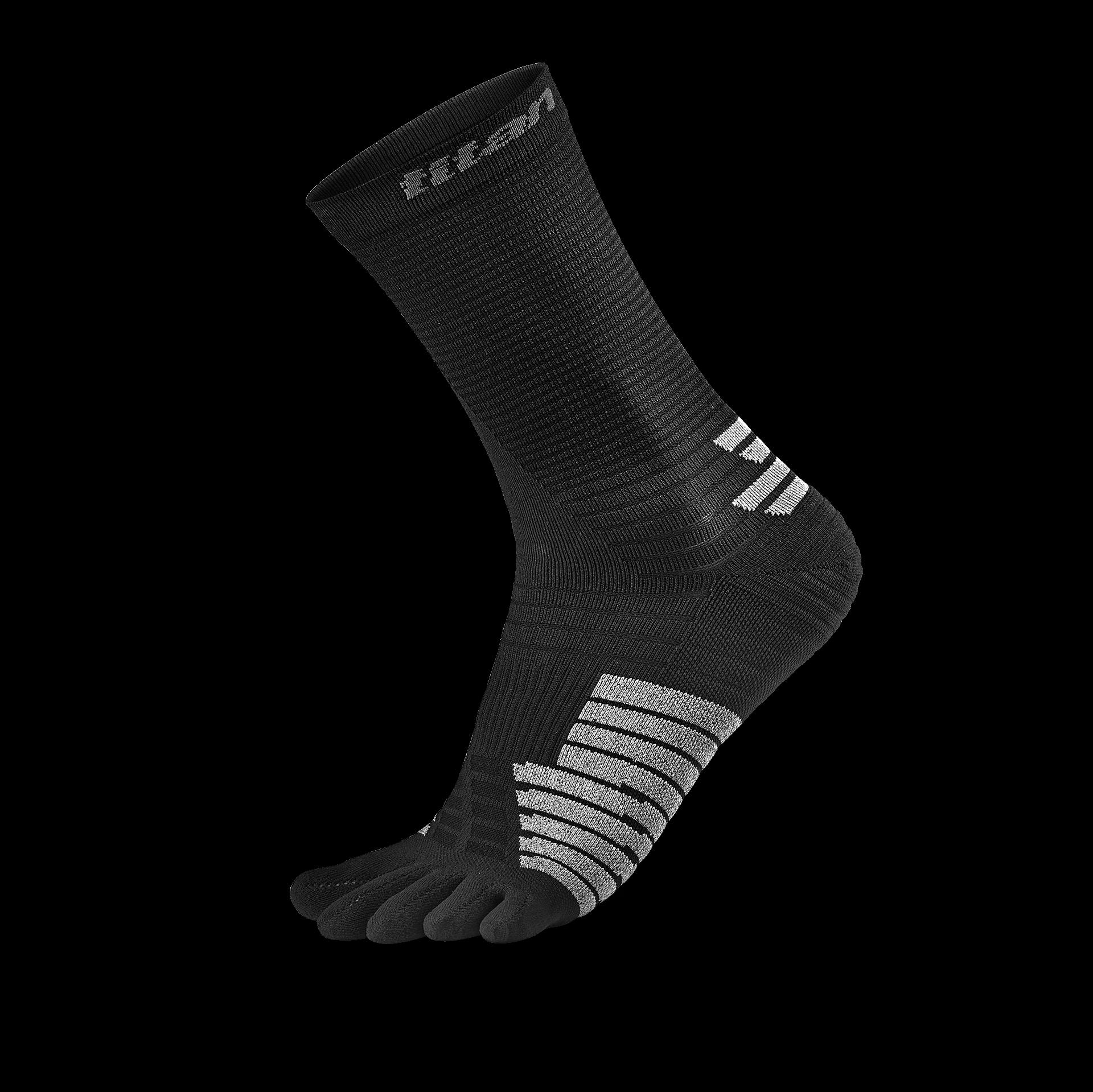 五趾薄型跑襪 中筒